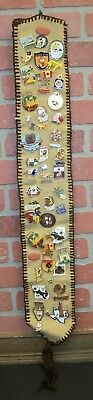 Vintage Lions Club Pins Collection Lot 1970's & 1980's