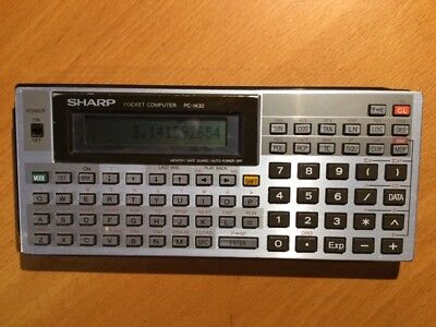 Calculatrice programmable / calculator vintage BASIC SHARP PC-1430