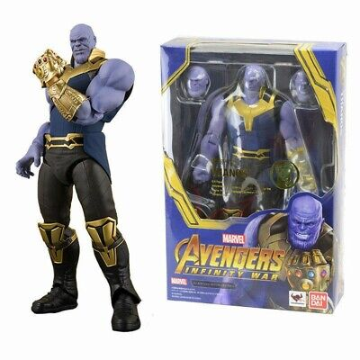 S.H.Figuarts SHF Movie Avengers Infinity War Thanos PVC Action Figure Toys Gifts