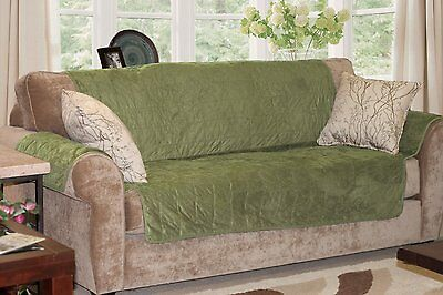 Furhaven Pet Products Home Sofa Protector, Sage