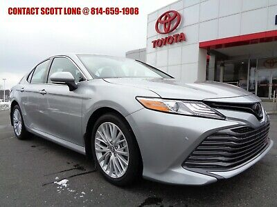 2018 Toyota Camry Certified 2018 Camry XLE Silver with 7K Miles Toyota Certified 2018 Camry XLE Heated Leather Seats Celestial Silver Metallic