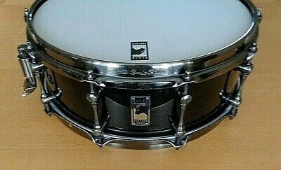 "Mapex BLACK PANTHER Black Widow 14"" Maple Snare Drum, Transparent Black Lacquer"