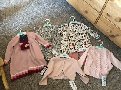 Marks And Spencer's Baby Girls Bundle,all BNWT,size 9-12 Months