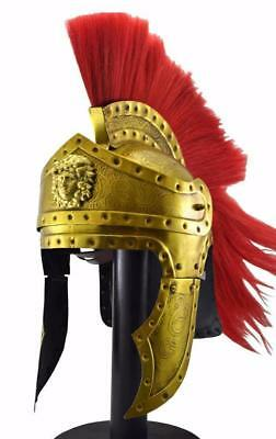 Medieval Greek greco roman spartan helmet king leonidas 300 movie helmet replica