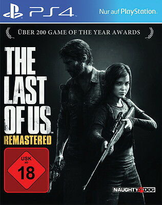 The Last Of Us -- Remastered (Sony PlayStation 4, 2014, DVD-Box)