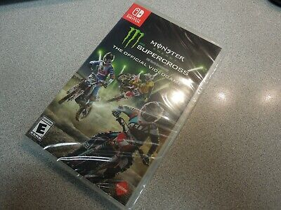 Monster Energy Supercross: Official Video Game (Nintendo Switch, 2018) NEW