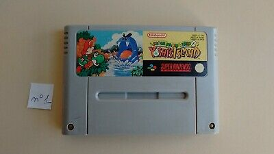 Super Mario World 2 Yoshi's Island sur Super Nintendo !!!!