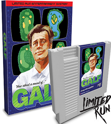Limited Run Games - GALF (NES) Golf White Cartridge - Only 450 Made - SHIPS ASAP