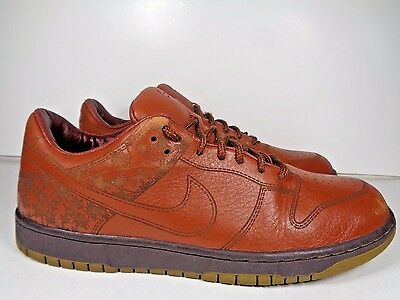 buy popular 4ac55 3d553 Mens Nike Dunk Low 1 Piece Pony 312424-222 Basketball shoes size 10.5