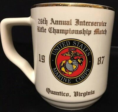 USMC 26th Annual Interservice Rifle Championship Match Quantico VA Coffee Mug