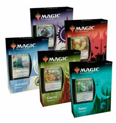 MTG Magic Ravnica Allegiance Guild Kits Set of 5 Factory Sealed Decks