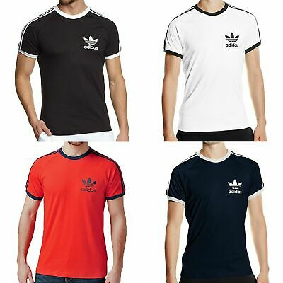 GENUINE Adidas Originals Mens California Short Sleeve T Shirt Top Size S M L XL