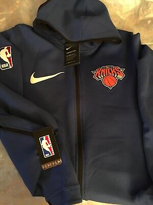 a46793c7060 New York Knicks authentic Nike Therma Flex Showtime NBA Hoodie size Large