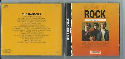 "The STANDELLS Greatest hits FRENCH CD ""Les Génies du Rock"" Sixties/Garage/Punk"