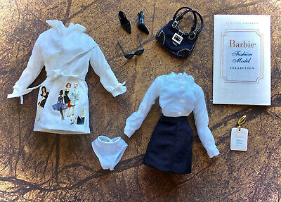 Silkstone Barbie Fashion Model Collection TRENCH SETTER Complete OUTFIT - NEW