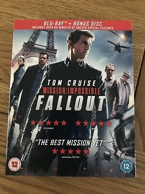 Mission: Impossible - Fallout.  Blu Ray