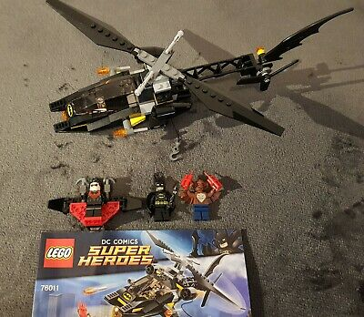 LEGO 76011 DC Comics Super Heroes Batman Man-Bat Attack COMPLETE SET Batman