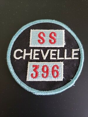 Vintage Ss Chevelle 396 Patch From 1970's