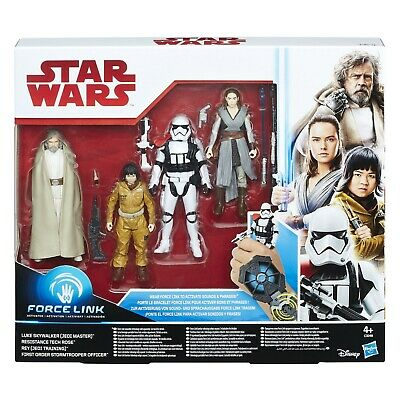 STAR WARS Force Link - The Last Jedi - Action Figure 4 Pack by Hasbro, 2017, NEW