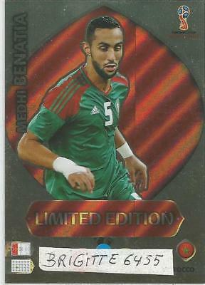 Panini Adrenalyn XL World Cup Russia 2018 Limited  Edition Medhi Benatia