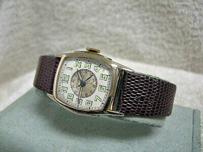 Vintage Antique Bulova Doctors Watch, Center sweep second hand Just serviced!