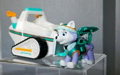 Paw Patrol Everest's Rescue Metallic Snowmobile & Figure Exclusive Edition