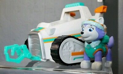 Paw Patrol Everest's Rescue rare Snowmobile & Figure Exclusive Edition