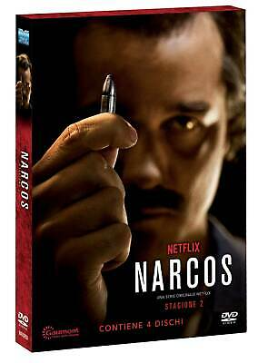 |961439| Narcos - Stagione 02 (Special Edition O-Card) (4 Dvd) - Narcos [DVD] Nu