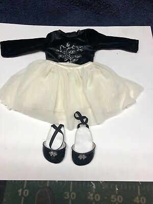 Doll black and white outfit formal holiday: perfect for american girl