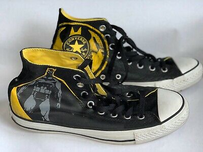 b27a6552acb9 CONVERSE CHUCK TAYLOR All Star Hi top Joker Arkham Batman DC Comics ...