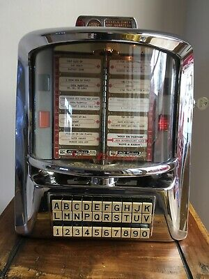 Seeburg 3WA (D) Vinyl Jukebox Wallbox 1950s Rock N Roll Elvis Beatles.