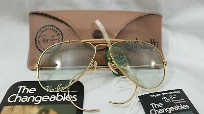 63bfca3d8f Vintage Ray Ban Aviators Outdoorsman Sunglasses 58mm Bausch & Lomb Made in  USA