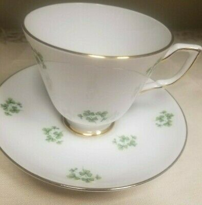Vtg ROYAL TARA Ireland SHAMROCK Killarney Teacup & Saucer Set(s)