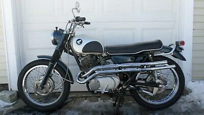 1965 Honda CL  1965 HONDA CL77 SCRAMBLER 305 CB CL ENDURO AHRMA VINTAGE SUPERSIZE ALL PICTURES!