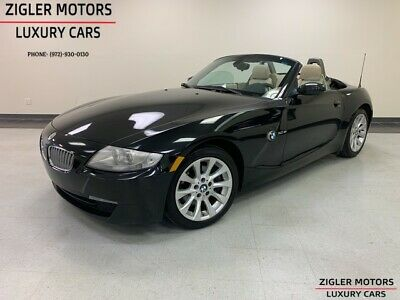 2007 Z4 3.0si Convertible Beautiful Clean Carfax 2007 BMW Z4 74,605 Miles