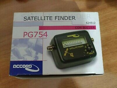 Satellite finder Misuratore di Segnale Analogico per Direct TV SAT Accord