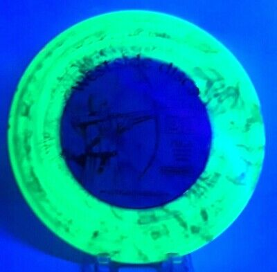 Westside Discs Tournament Plastic Longbowman 175G UV Tye Dye Custom Disc Dye