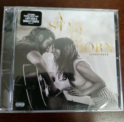 NEW - A Star is Born CD NEW Soundtrack Explicit Lady Gaga/Bradley Cooper SEALED!