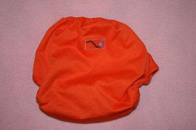 Rumparooz Cloth Diaper Cover Snap, One Size Orange