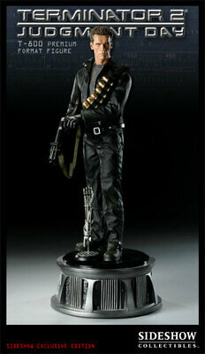Sideshow Terminator EXCLUSIVE Judgement Day T-800 Premium Format Figure Statue