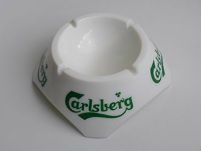 grand cendrier CARLSBERG opaline Magnier Blangy made in France ashtray