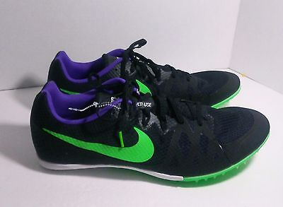 68c2047b7da8a NEW! NIKE ZOOM Rival MD 8 Black Men s Running Shoes Style 806555-035 ...