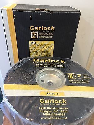 """Garlock 1"""" Style 1925 Compression Pump Packing 5# 41925-306478"""