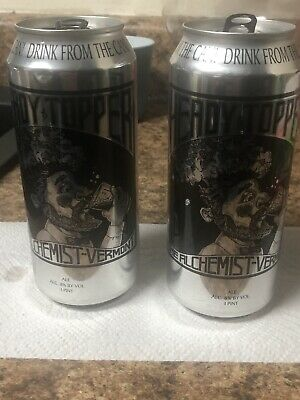 Heady Topper The Alchemist Vermont IPA Empty Can