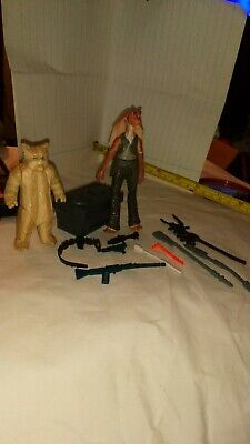 Vintage orginal genuine Star Wars Figures -  Weapons  & Accessories