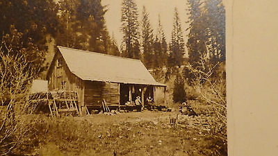 Rppc Postcard ST ELMO CO  SHACK, HOME, GOLD MINE TOWN, MILLING, GHOST TOWN