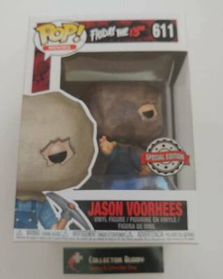 Funko Pop! Movies 611 Friday the 13th Jason Voorhees w/ Bag Pop Special Edition