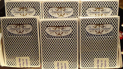 TREASURE ISLAND CARD decks  12 DeckS from brick   CASINO Deck Of PLAYING CARDS