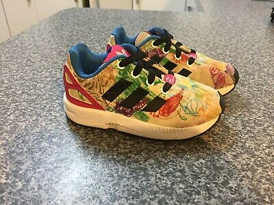 Adidas ZX Flux Torsion Ortholite toddler girls sz US 7 sneakers runners