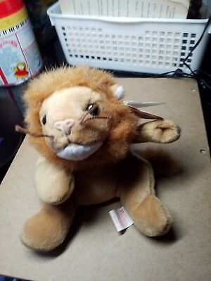 TY BEANIE Babies ROARY THE LION PLUSH TOY 1996